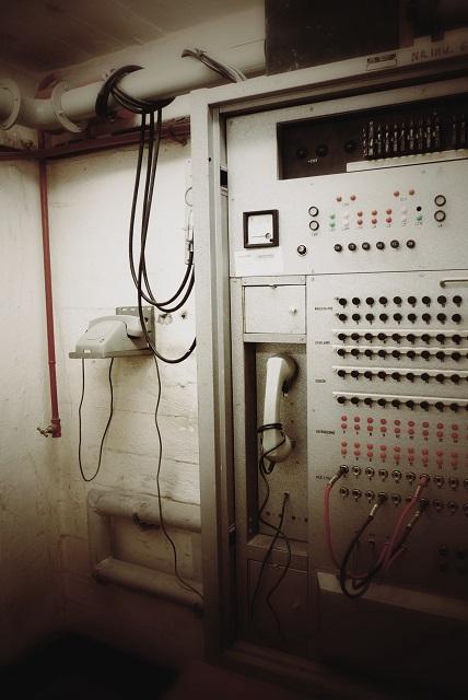 Centrala telefoniczna schronu