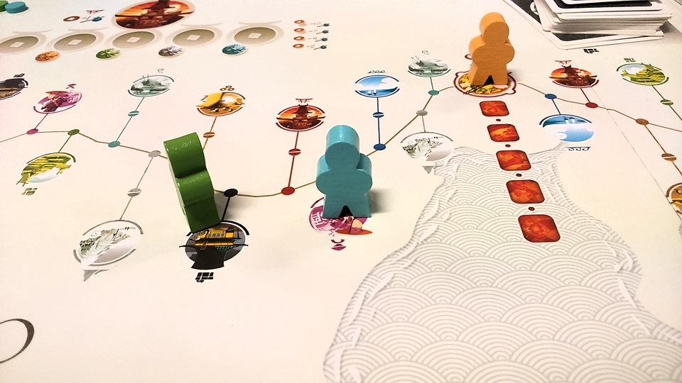 Tokaido - gra w klimatach Japonii