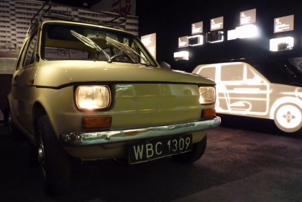 Wspomnienie PRL - Fiat 126p