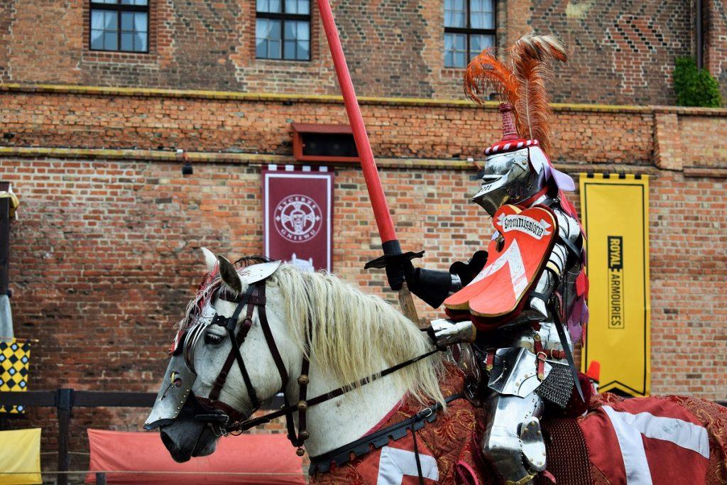 Pięknie prezentujący się Rycerz z Polski