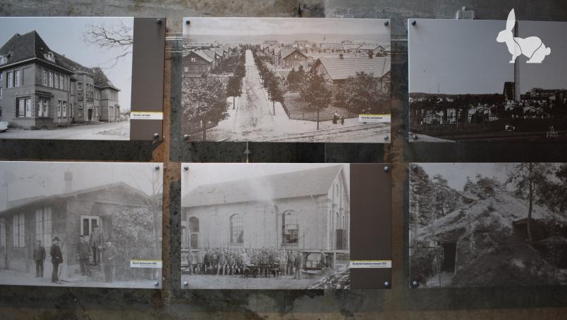 Wystawa zdjęć - miasteczko robotnicze DAG